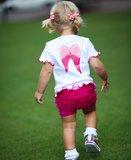 Ruffle Butts fuchsia playground Short_