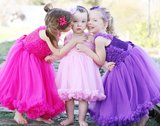Ruffle Butts Prinses Pink Pettidress    _