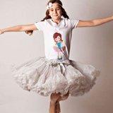 Petticoat Luxe Grijs KIDS & Women _