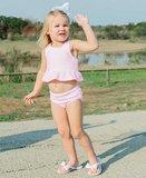 Tankini Seersucker roze wit streep 56-140_