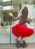 Petticoat Luxe Rood By Meetje-Pettiskirts Kids & Women_