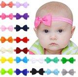 Baby Strik haarbandje Vele kleuren _