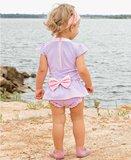 Lila Roze strik zwempakje 56-98._