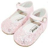 Bruidmeisje schoen glitter roze 18-23_