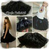 Petticoat Luxe Zwart By Meetje Pettiskirts _