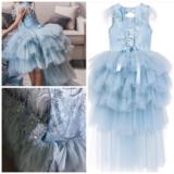 Communie jurk en Bruidsmeisjes jurk met sleep Ultra luxe Diverse kleuren mogelijk _