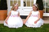 bloemenmeisje jurk - bruidsmeisjesjurk maat 62 tm 116_