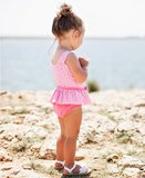 badpak met skirt UV bescherming Rose Gingham  maat 50 tm 104 NEW_