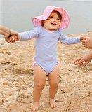 baby zwempakje lange mouw blauw wit roze 56-92_