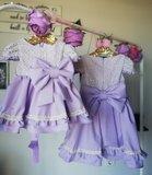 Lila jurk Valerie Atelier Handmade 50 tm 186_