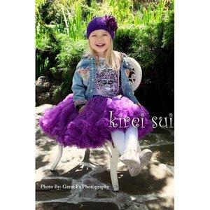 Pettiskirt Luxe Purple maat 86-158