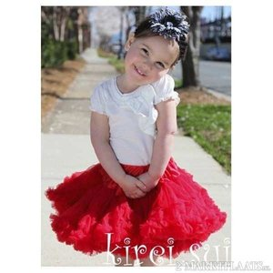 Pettiskirt Luxe Red maat 86-158