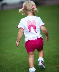 Ruffle Butts fuchsia playground Short