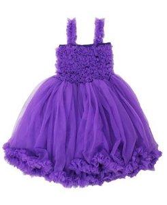 Ruffle Butts Prinses Purple Pettidress