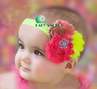 Haarband Luxe Rainbow Rossette