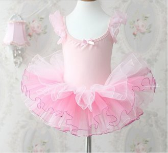 *Balletpakje Light Pink GlimmTutu maat 98/140