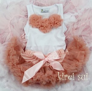 Petticoat Set standaard Blushpink Baby
