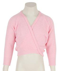 Balletvestje Crossover Pink maat 92-140