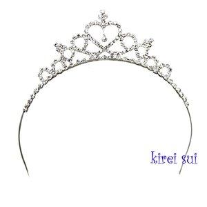 * Girls Bling Crystal Princess Crown Tiara Diadeem