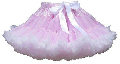 Petticoat Luxe Baby Pink White By Meetje-Pettiskirts Newborn & Baby