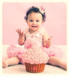 Pettiskirt Standaard pink + Cupcake Tanktop White