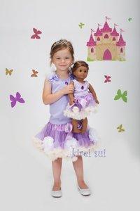 Petticoat set Prinses Sofia + Poppenset