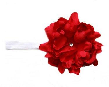Jamie Rae Red Big Red Diamond Flower