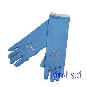 Handschoen Rhinestone Snowflake