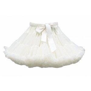 Witte Petticoat Luxe By Meetje-Pettiskirts Infant