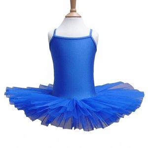Balletpakje Tutu Royal Blue 3-12 jaar