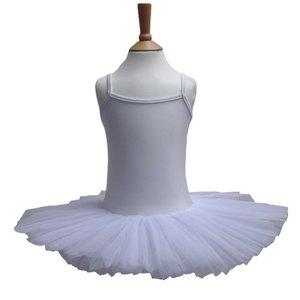 Balletpakje Tutu Wit 3-12 jaar