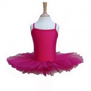 Balletpakje Tutu Raspberry 3-12 jaar