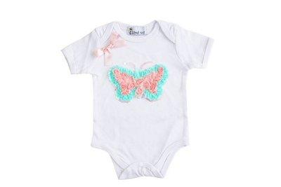 Baby Fashion Romper Vlinder