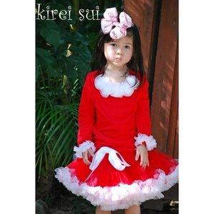 Petticoat rood wit 74-122