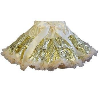 Petticoat Goud Glitter maat 74-122