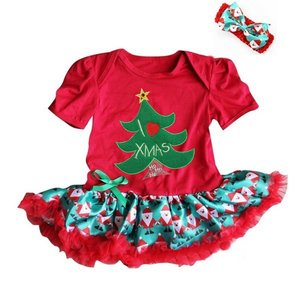 baby kerstjurk kerstboom Red