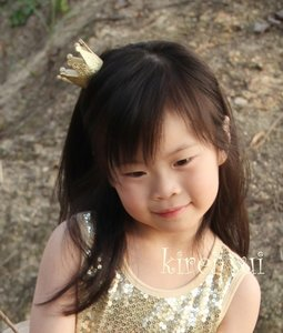 Gouden kroon Baby Girls Diadeem