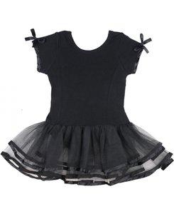 Balletpakje zwart Ruffly zwart 68-110