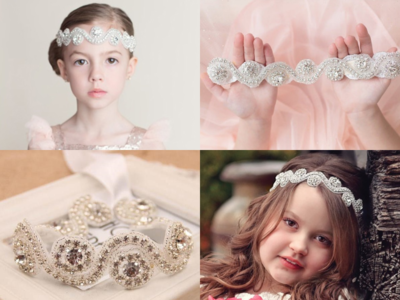 Luxe Crystal handgemaakte hoofdband Kids & Women