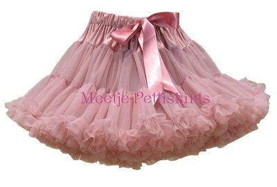 'Petticoat Luxe Dustypink By Meetje-Pettiskirts Kids