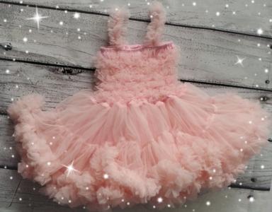 Feestjurk Pettidress By Meetje baby Pink