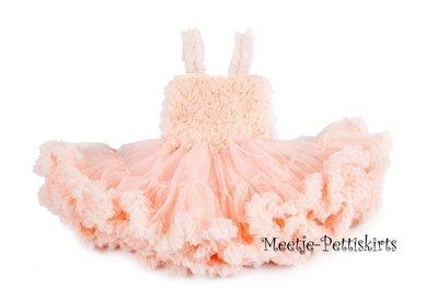 Feestjurk Pettidress By Meetje Peach pink 62-158