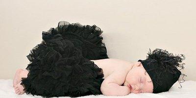 Petticoat Luxe Black By Meetje-Pettiskirts Kids & Women