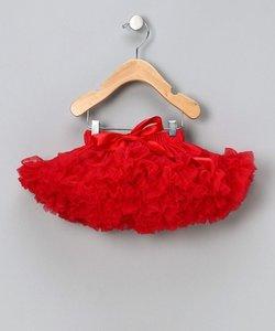 Petticoat Luxe Rood By Meetje-Pettiskirts Big Kids & Women