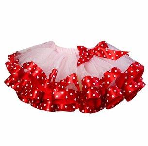 Tutu rok roze rood valentijn