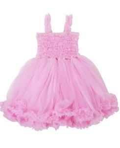 Ruffle Butts Prinses Pink Pettidress