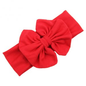 Haarband Stretch Strik Diverse kleuren rood.