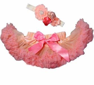 Baby Petticoat strawberry ice & haarband