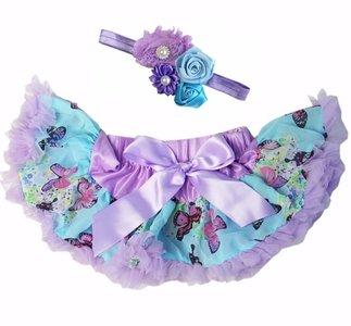 Baby Petticoat Vlinder & haarband