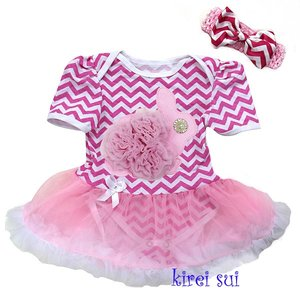 Baby jurk pasen Chefron 3d konijn